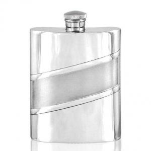 6oz Pewter Hip Flask - SF573