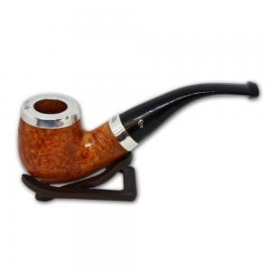Peterson Silver Cap Silver Mounted Natural XL90 Pipe (PE569)