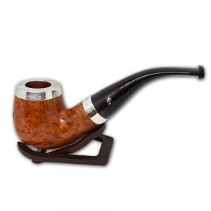 Peterson Silver Cap Silver Mounted Natural XL90 Pipe (PE511)