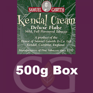 Samuel Gawith Kendal Cream Flake Pipe Tobacco 500g Box