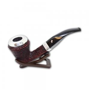 Peterson Silver Cap Fishtail Rustic XL26 Pipe (PE587)