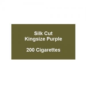 Silk Cut Purple Kingsize - 10 packs of 20 cigarettes (200)