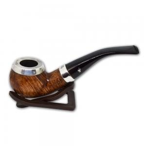 Peterson Silver Cap Silver Mounted Natural 03 Pipe (PE608)
