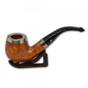 Peterson Silver Cap Silver Mounted Natural 68 Pipe (PE550)
