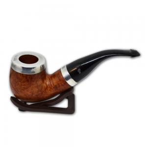 Peterson Silver Cap Silver Mounted Natural XL90 P/Lip Pipe (PE582)