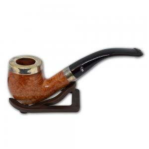Peterson Silver Cap Silver Mounted Natural 69 Pipe (PE537)