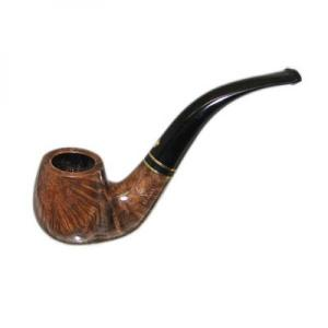 BBB Sprint Black Band Bent Briar Pipe