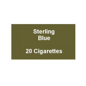Sterling Blue Kingsize - 1 Pack of 20 Cigarettes (20)