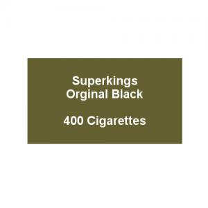 Superkings Original Black - 20 packs of 20 cigarettes (400)