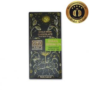 Tesoro Amazonico 62% Dark Espresso Single Origin Peruvian Chocolate