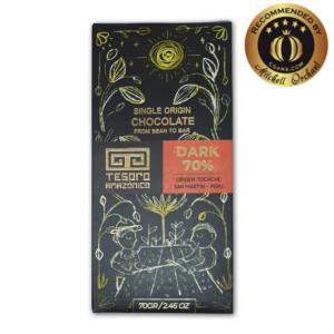 Tesoro Amazonico 70% Dark Single Origin Peruvian Chocolate