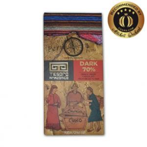Tesoro Amazonico Cuzco 70% Dark Single Origin Peruvian Chocolate
