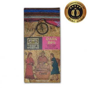 Tesoro Amazonico 88% Dark Single Origin Peruvian Chocolate