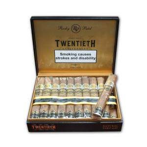 Rocky Patel - 20th Anniversary Toro Natural Cigar - Box of 20