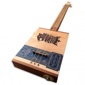 Handcrafted Drew Estate Undercrown Cigar Box Guitar