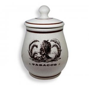 Savinell Indian Antico Ceramic Tobacco Storing Jar