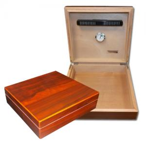 Vector Humidor - Walnut - 18 Cigar Capacity