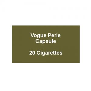 Vogue Blue Capsule - 1 Pack of 20 Cigarettes (20)