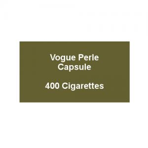 Vogue Blue Capsule - 20 Packs of 20 Cigarettes (400)