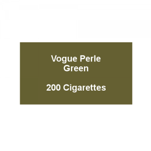 Vogue Green - 10 Packs of 20 Cigarettes (200)
