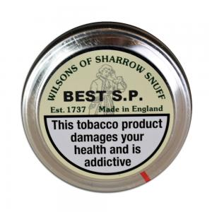 Wilsons of Sharrow - Best SP Snuff - Large Tin - 20g