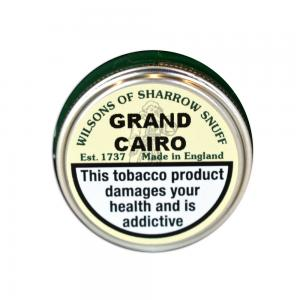 Wilsons of Sharrow - Grand Cairo Snuff - Small Tin - 5g