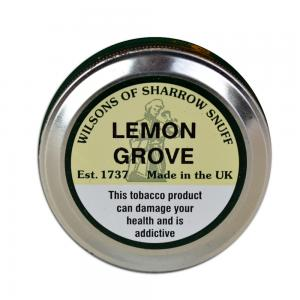 Wilsons of Sharrow - Lemon Grove Snuff - Large Tin - 20g (END OF LINE)