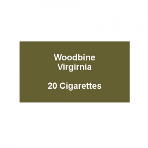 Woodbine Virginia - 1 Pack of 20 cigarettes