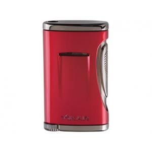 Xikar Xidris Single Jet Flame Lighter – Daytona Red