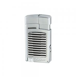 Xikar Forte Single Jet Cigar Lighter with Punch – Silver