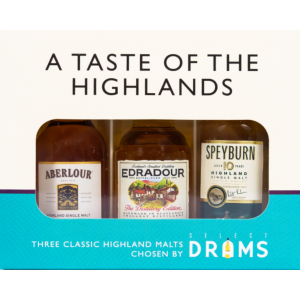 A Taste of the Highlands 3 x 5cl Gift Pack