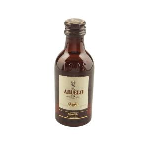 Ron Abuelo 12 Year Old Rum Miniature - 5cl 40%