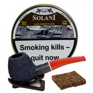 Solani Pipe Tobacco Aged Burly Flake 50g Tin