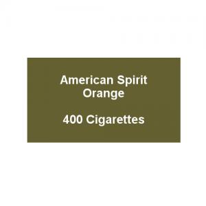 American Spirit Orange -  20 Packs of 20 Cigarettes (400)
