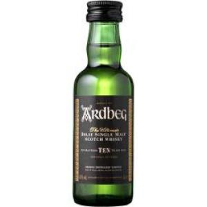 Ardbeg 10 Year Old Single Malt Scotch Whisky Miniature - 5cl 46%