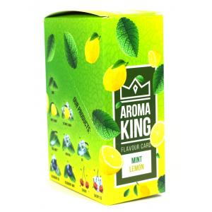 Aroma King Flavour Card -  Mint Lemon - Box of 25