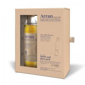 Arran 10 Year Old Bottle & Glass Pack