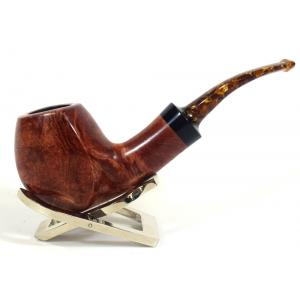 Adams Artisan By Ardor Danish Shaped Bent Freehand 9mm Filter Swallowtail Pipe (ART155)