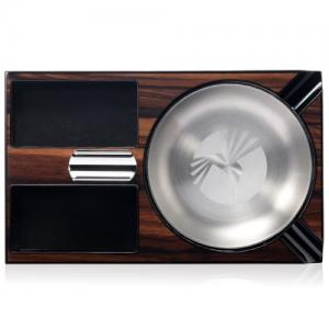 Christmas Gift - Colibri Windsor Wooden Ashtray - Brown
