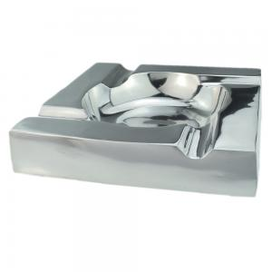Aluminium Designer 4 Position Square Cigar Ashtray