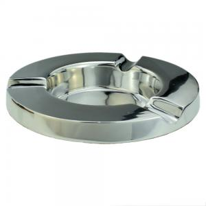 Aluminium Chicago Design 3 Position Round Cigar Ashtray