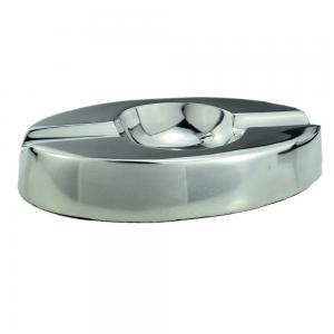 Aluminium Venice Design 2 Position Oval Cigar Ashtray