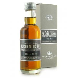 Auchentoshan Three Wood Miniature - 5cl 43%