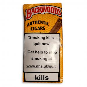 Backwoods Yellow Cigars  - Pack of 5 (End of Line)