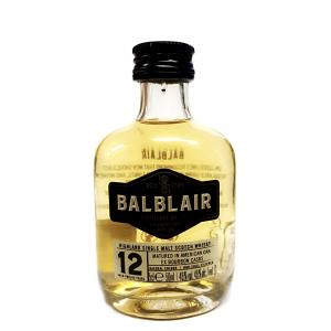 Balblair 12 Year Old Miniature - 5cl 46%
