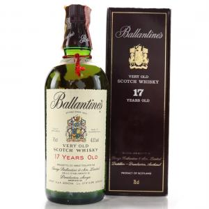 Ballantines 17 year old Very Old Burgundy Presentation Box - 43% 75cl