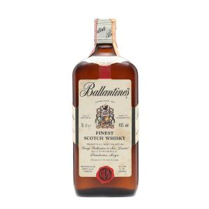 Ballantines 1970s Finest Scotch Whisky - 75cl