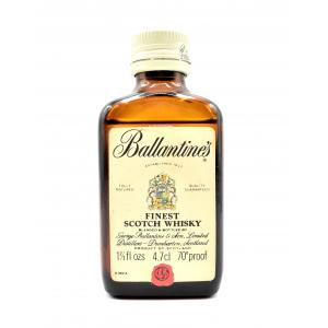 Ballantines Finest Scotch Whisky Miniature - 4.7cl 70 Proof