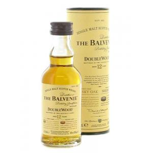 Balvenie 12 Year Old Doublewood Single Malt Scotch Whisky Miniature - 5cl 40%