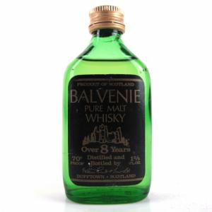 Balvenie 8 year old Miniature - 70 proof 1 2/3 FL.OZ